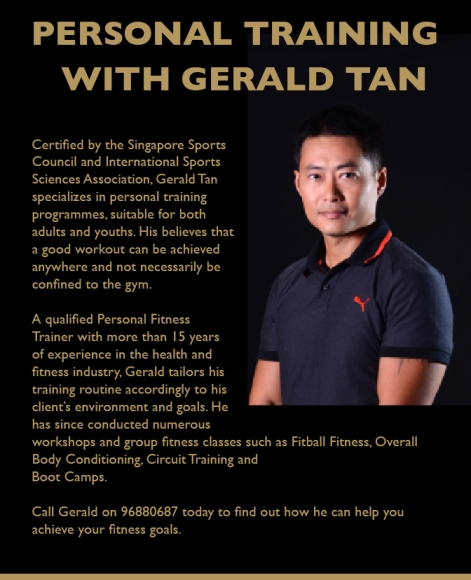 Personal Trainer, Group Fitness Training, TRX, Kettlebell, Kettle Bell, Bootcamp, HIIT, Interval Training, Weight Loss, Losing Weight, Flexibility Enhancement, Pain Management, Pain Relief Treatment, Crossfit, Functional Training in Singapore